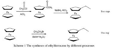 氯铝酸英超联赛直播液体中一步法合成乙基二茂铁.jpg