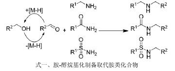 基于胺-醇烷基化制备取代胺类化合物.jpg